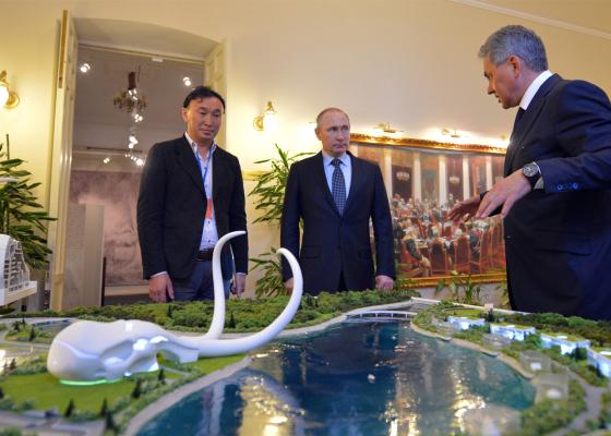 Даши Намдаков представил проект Парка РГО