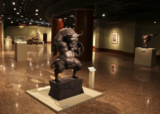 Кочевник. Выставка скульптур российского художника Даши Намдакова