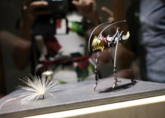 Первая ювелирная выставка Даши в Иркутске