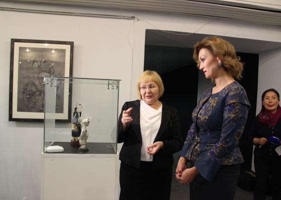 Выставка в Музее истории Бурятии