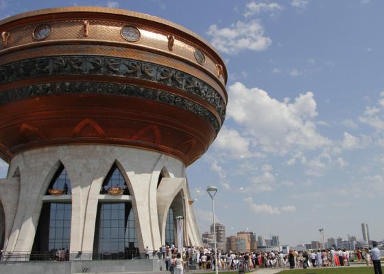 В Казани по проекту Даши Намдакова построили Дворец Бракосочетания – Центр семьи «Казан»